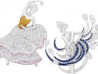 ヴァン クリーフ&アーペルによる、ハイジュエリー コレクション「バレエ プレシュー」から、新作バレリーナ クリップが一般公開