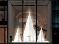 ミキモトによる冬の風物詩が、3年ぶりに復活。光が織りなす、ユニークなクリスマスツリー