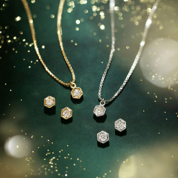 """ダイヤモンドのロマンチックな輝き、アベリの人気コレクション""""シックス""""からホリデージュエリーが登場"""
