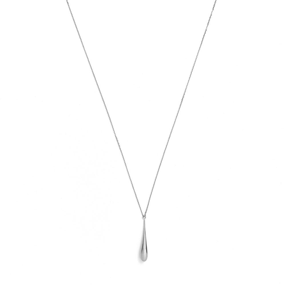 ネックレス(70cm)〈18KWG〉¥159,000