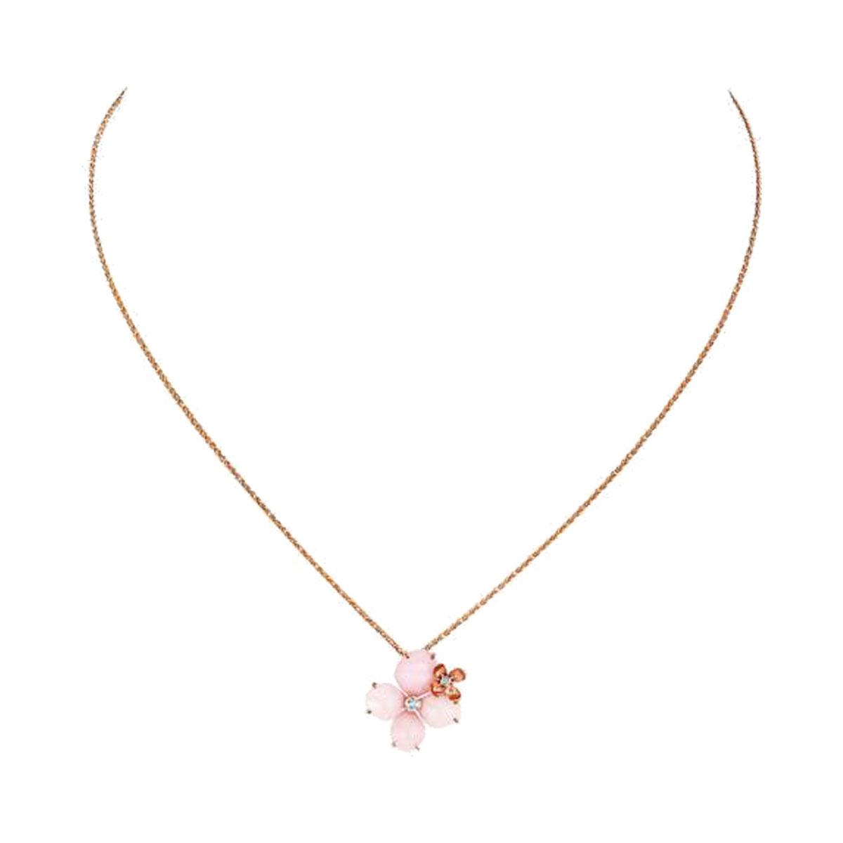 ペンダント〈PG、ダイヤモンド、ピンクオパール〉¥277,000