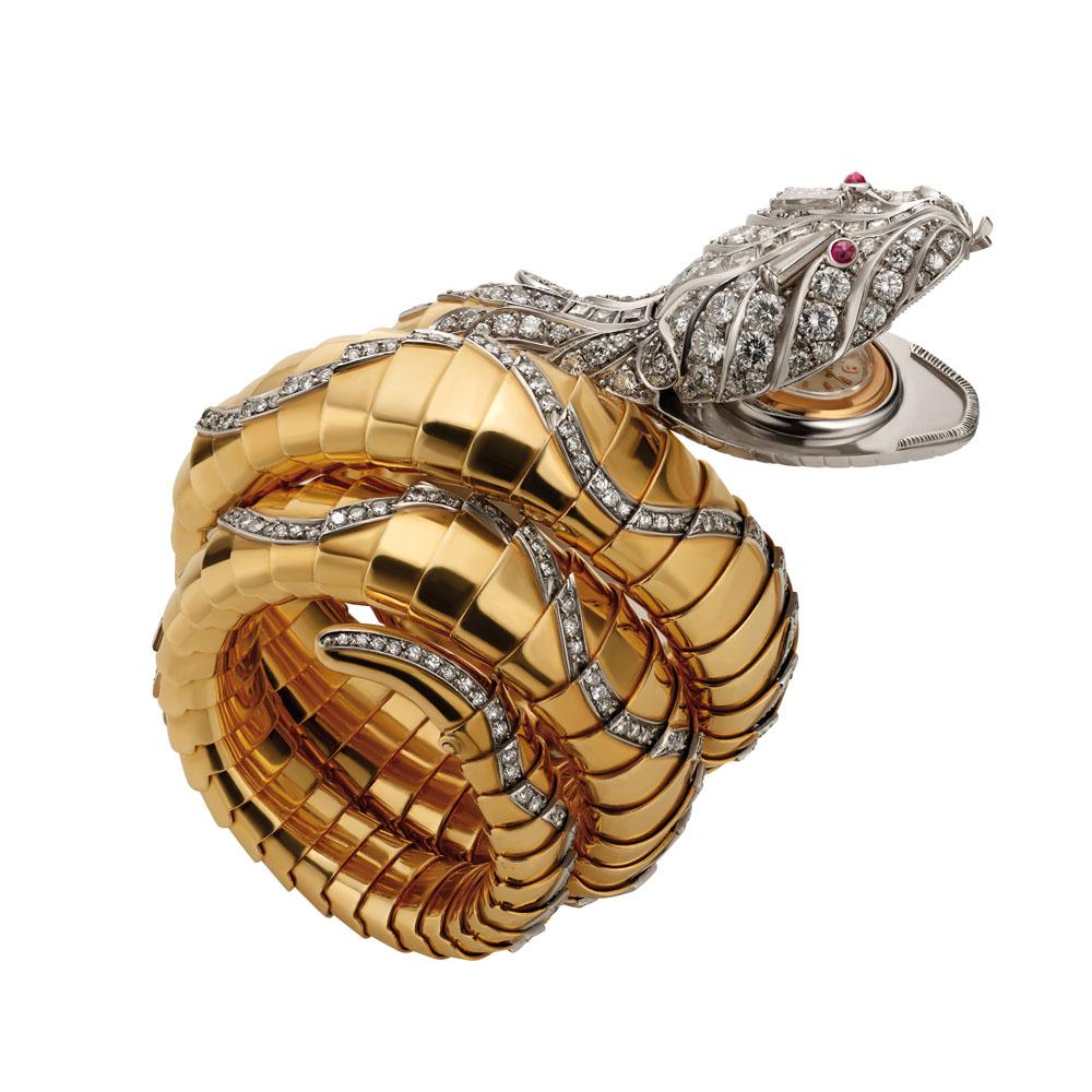 ブレス ブルガリ 蛇