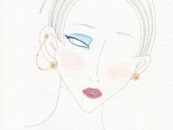 #10 ローズモチーフのモダンなイヤリング【ピアジェ】