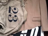 コートの文字と古川さんのこと