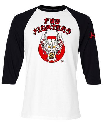 伊勢丹限定/FOO FIGHTERSのTシャツ ¥4500