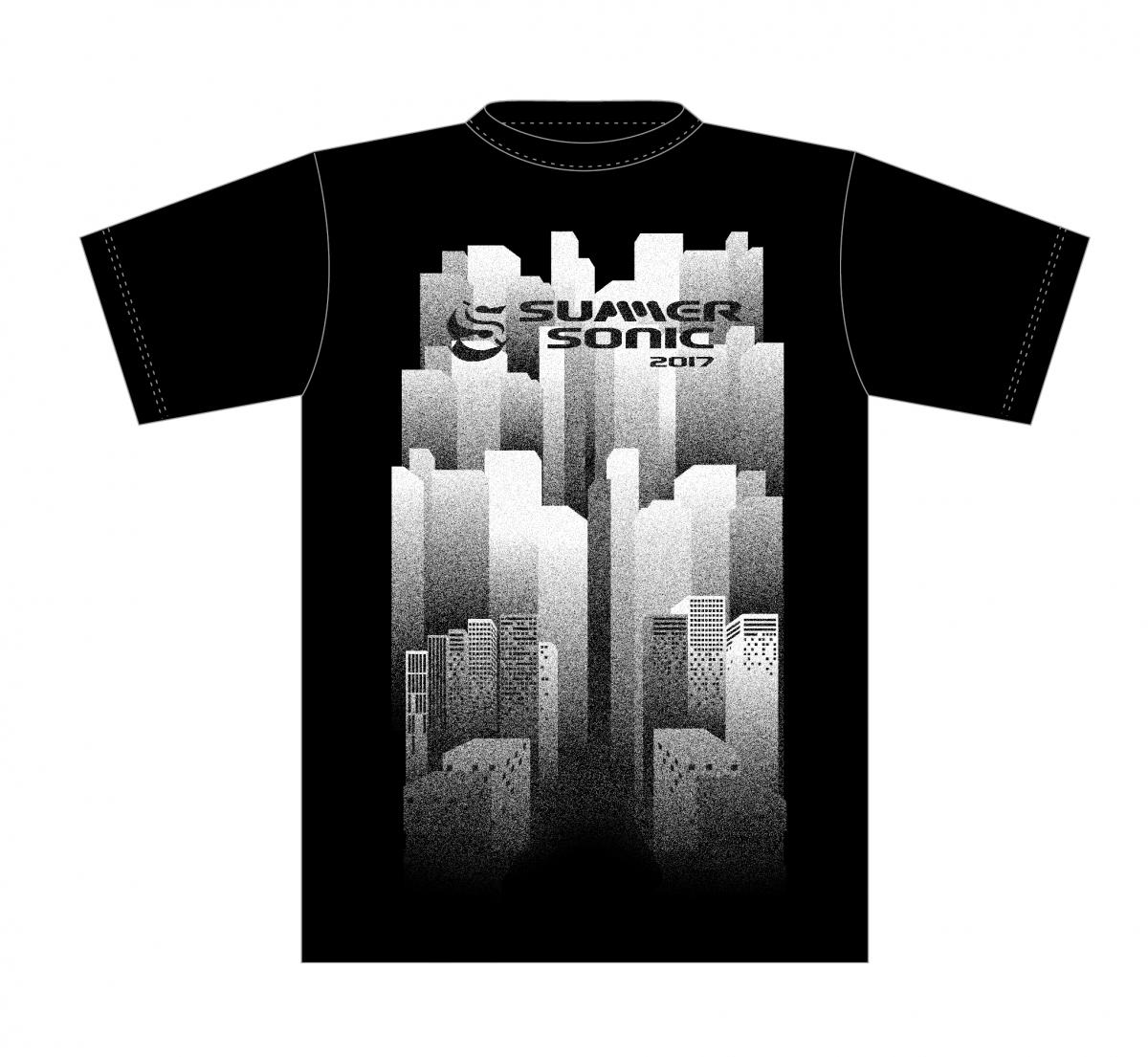 伊勢丹限定/サマソニ公式のTシャツ¥3500(税抜き)