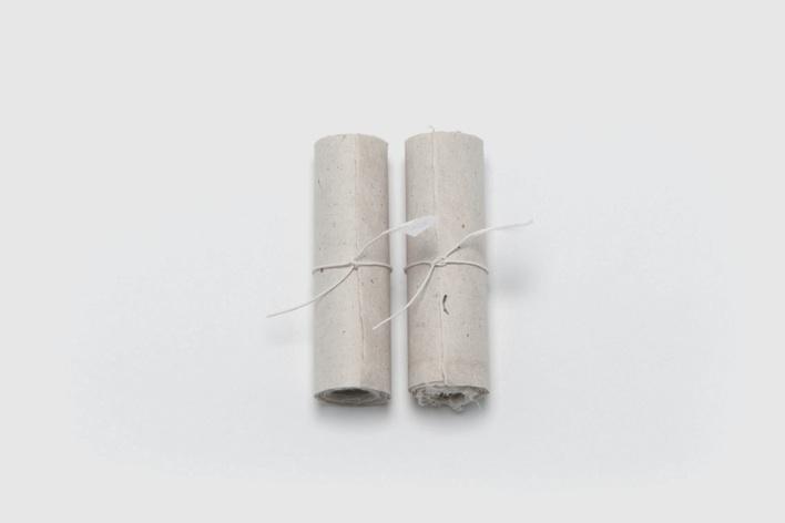 こよみ唄巻物 楮和紙(蛇胴紙、紙漉き:西田誠吉) 湧水で擦った炭
