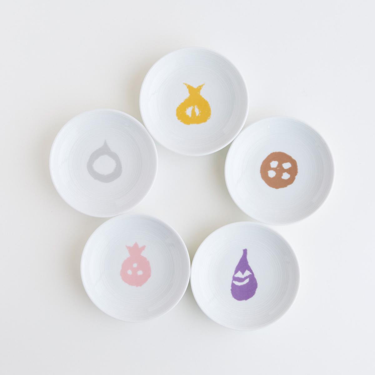 POOL「コロコロのもの 小皿5枚セット」柚木沙弥郎 ¥2,750