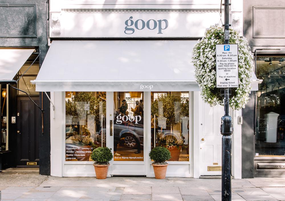 ロンドンのノッティング・ヒルにある「goop Lab」。