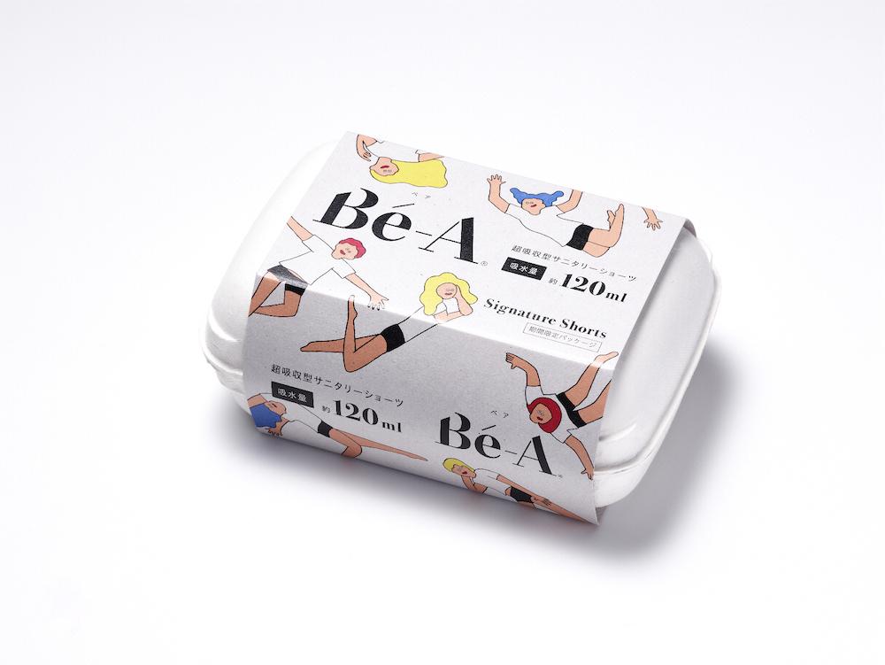AYAKA FUKANO×Bé-A〈ベア〉 「シグネチャー ショーツ 02」 限定オリジナルデザインパッケージ