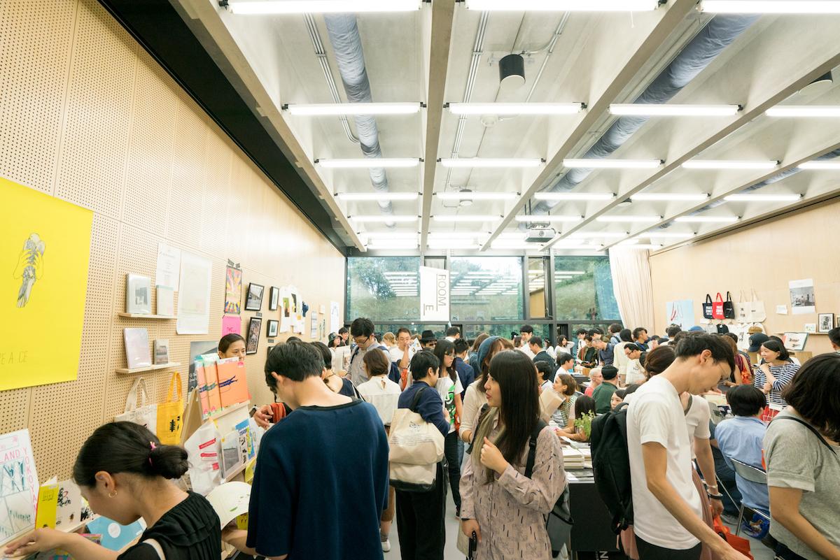 2016年のTOKYO ART BOOK FAIRの模様。