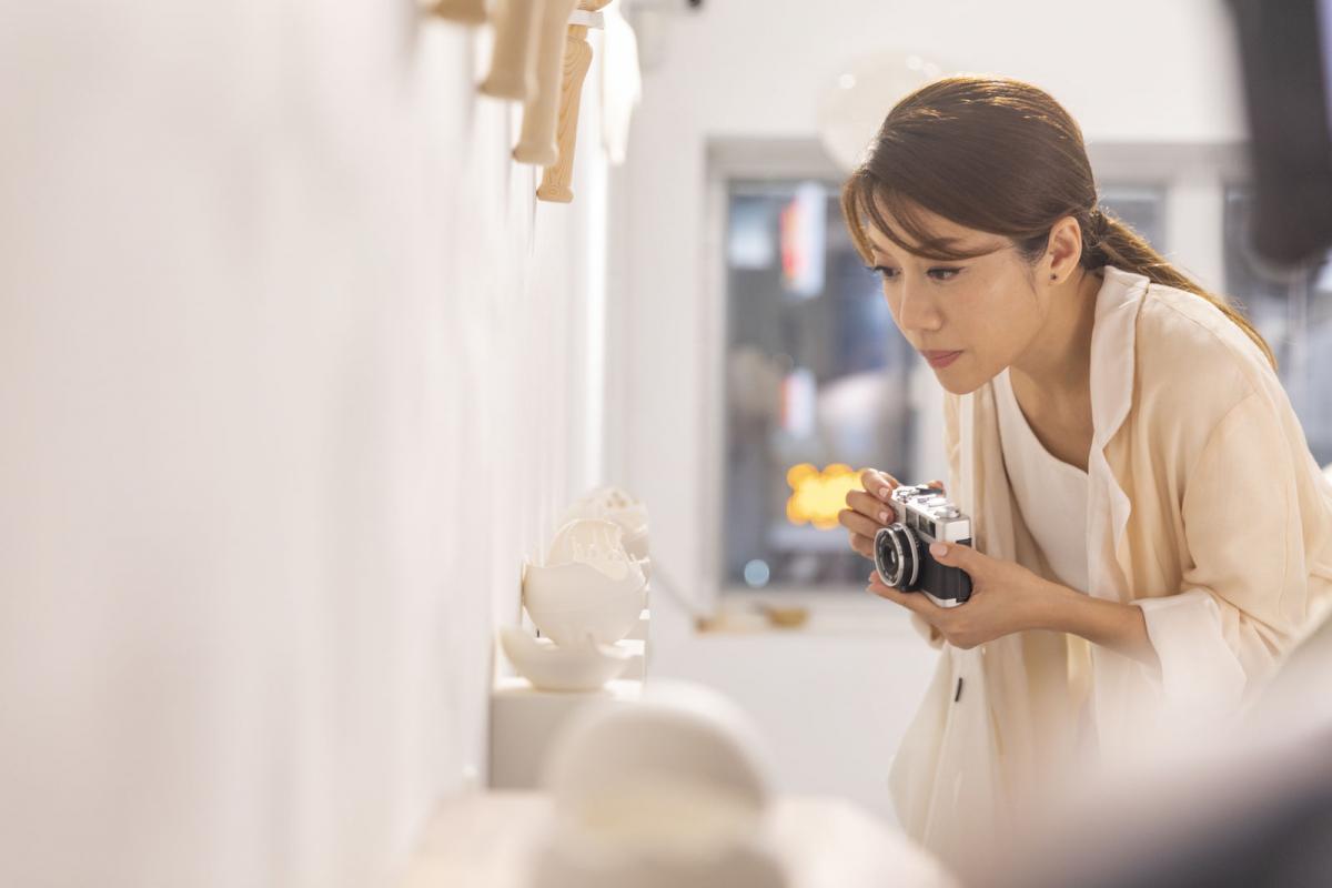 香港のクロスメディアクリエイター、キーレン・パン。