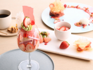 いちごの魅力を味わい尽くす! 「フルーツサロン」でいちごのスイーツコースを堪能