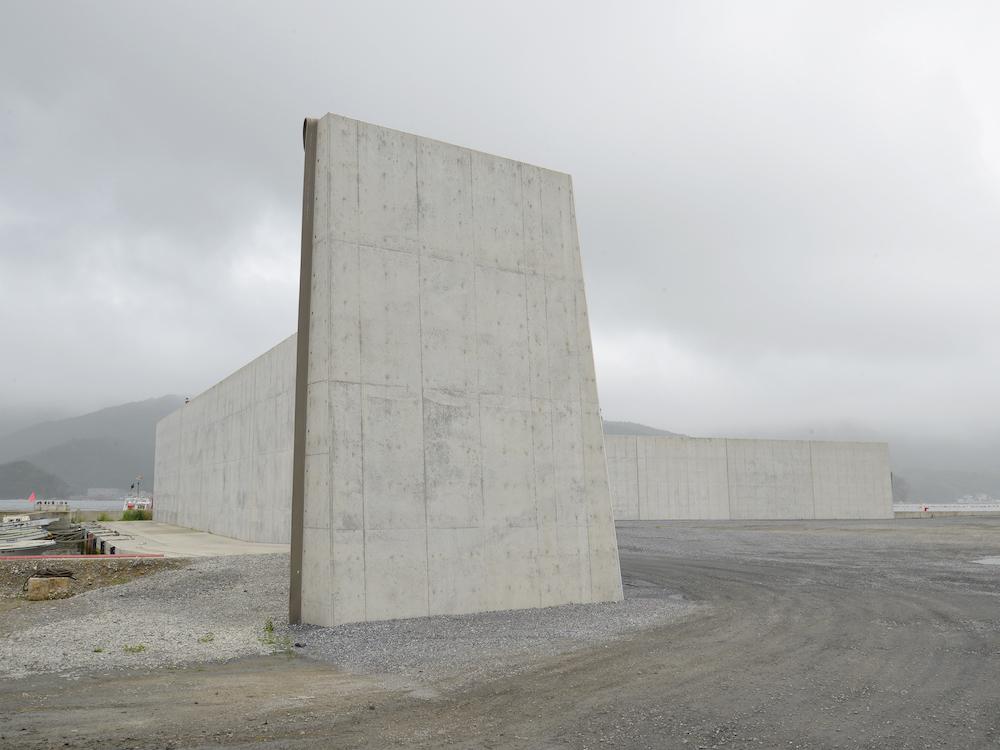 小野規「COASTAL MOTIFS, 2017-2018 #9183 Ofunato bay, Iwate prefecture(大船渡湾 - 岩手県)」