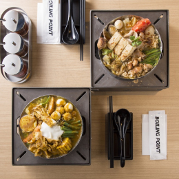 LAスタイルの台湾一人鍋専門店が日本初上陸。「BOILING POINT」が渋谷にグランドオープン