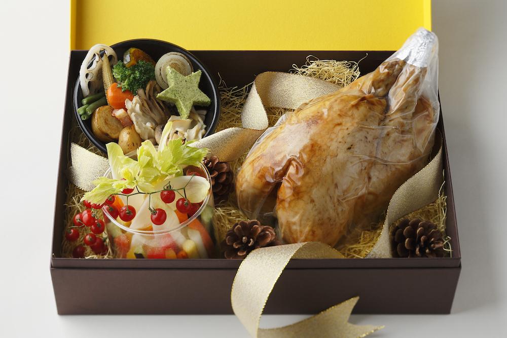 「クリスマスギフト ローストチキン」(4〜6名用)¥8,500