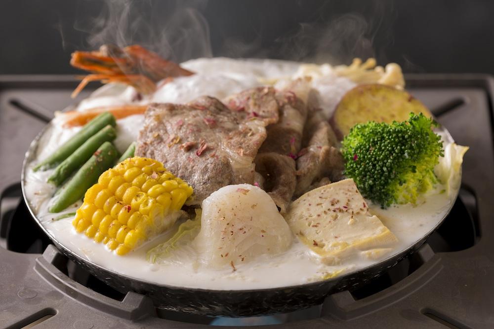 「ローズミルク鍋」¥1,680