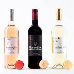10名様にマカロン&ワインセットをプレゼント! ムートン・カデとピエール・エルメ・パリが初コラボレーションした、ペアリングセットを期間・数量限定販売