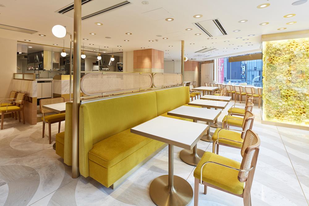 2・3階の「L'OCCITANE Café by Pierre Hermé」