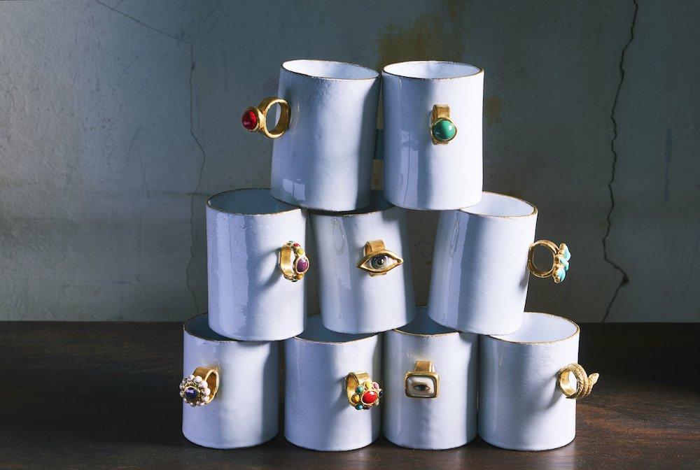 セレナ・キャロンヌとの初めてのコラボレーション「指輪カップ」は