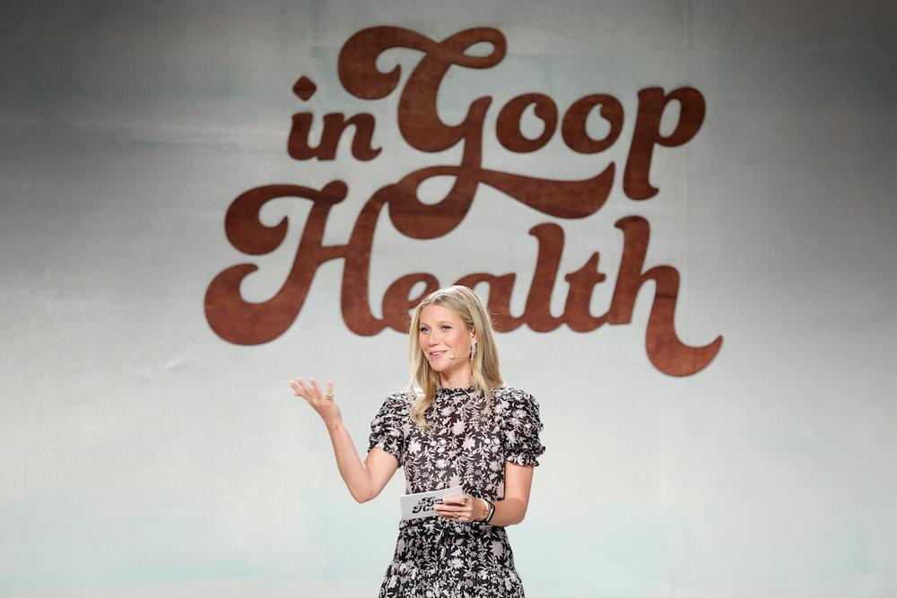 goopはグウィネス・パルトローが2008年9月に立ち上げたライフスタイルブランド。彼女自身が体現する、健康的で豊かな暮らしの秘訣を、ウェブサイトやショップを通じて広めている。