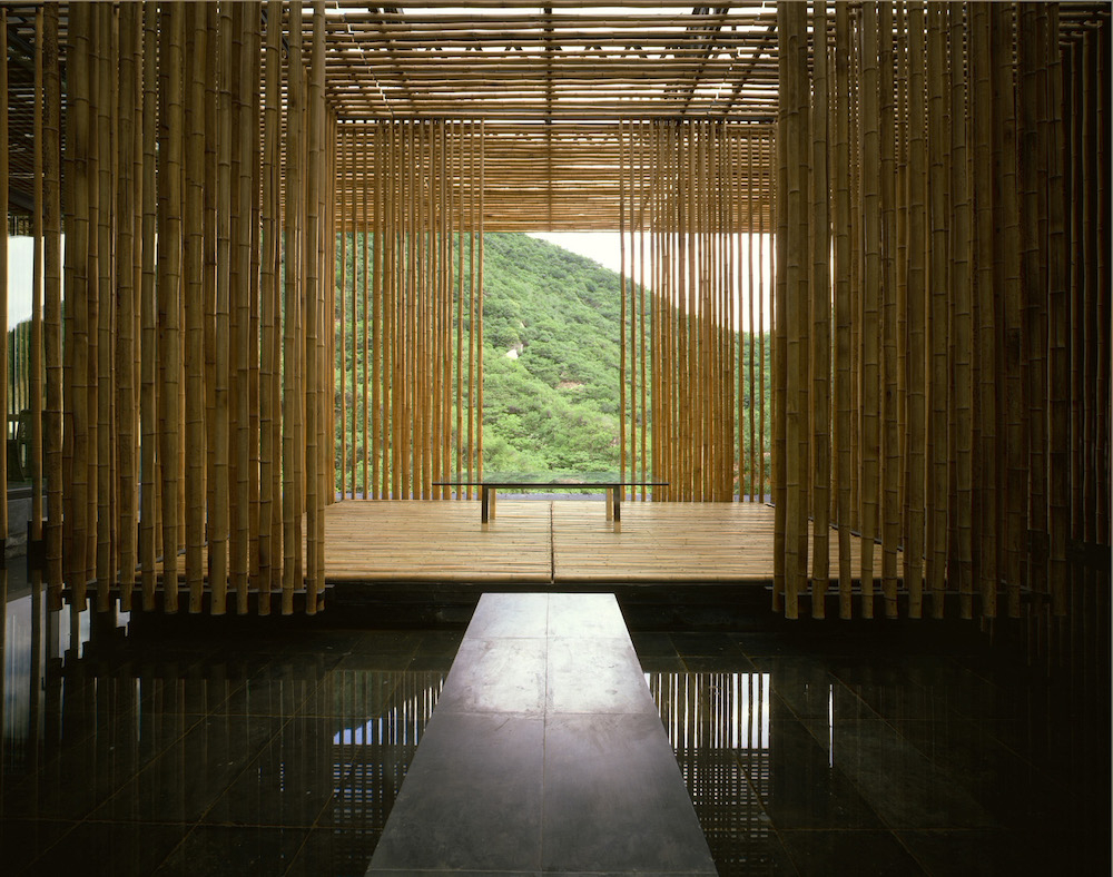 Great (Bamboo) Wall 2002 Photo: Satoshi Asakawa