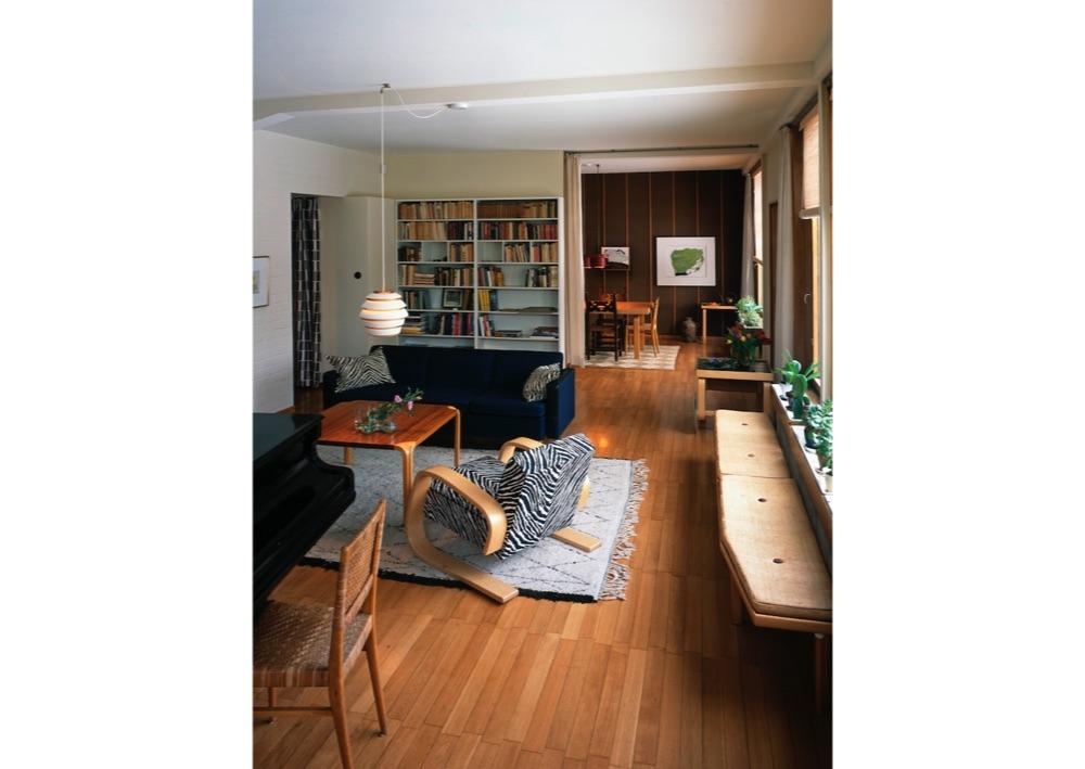 アアルトハウス リビングルーム Alvar Aalto Foundation