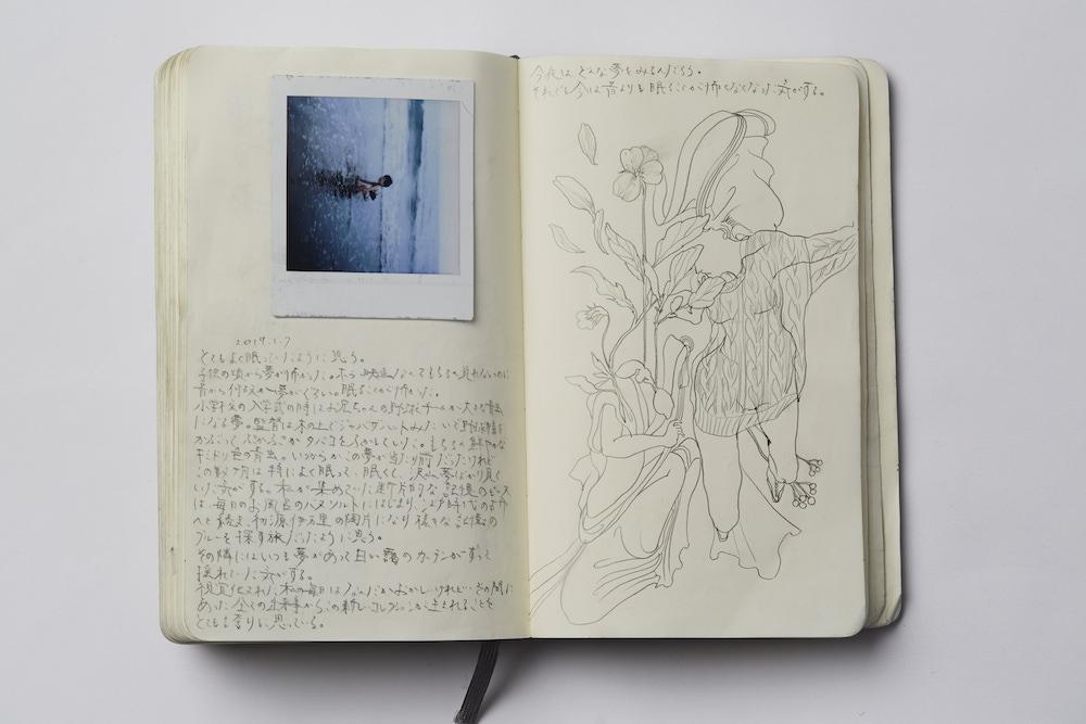 黒河内の手書きのノートなども。