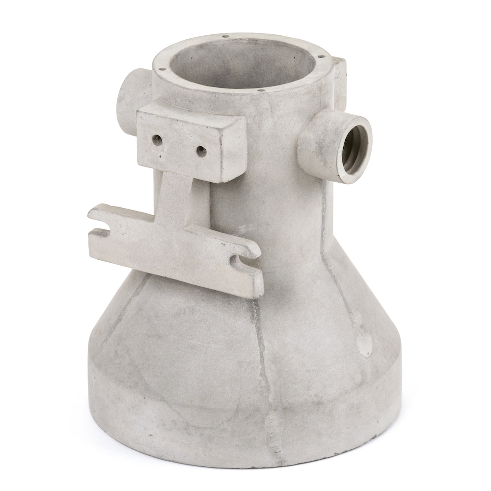 「CEMENT VASE CONNECTION」(Ø20×H23cm)¥15,800