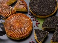 今年のフェーヴはカラフルなお菓子! パティスリー・サダハル・アオキ・パリの「ガレット デ ロワ」2種