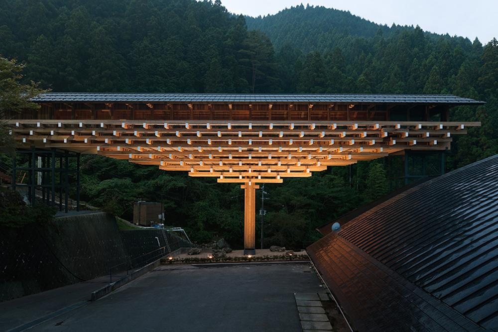 隈 研吾「梼原・木橋ミュージアム」2010年 高知 撮影:太田拓実