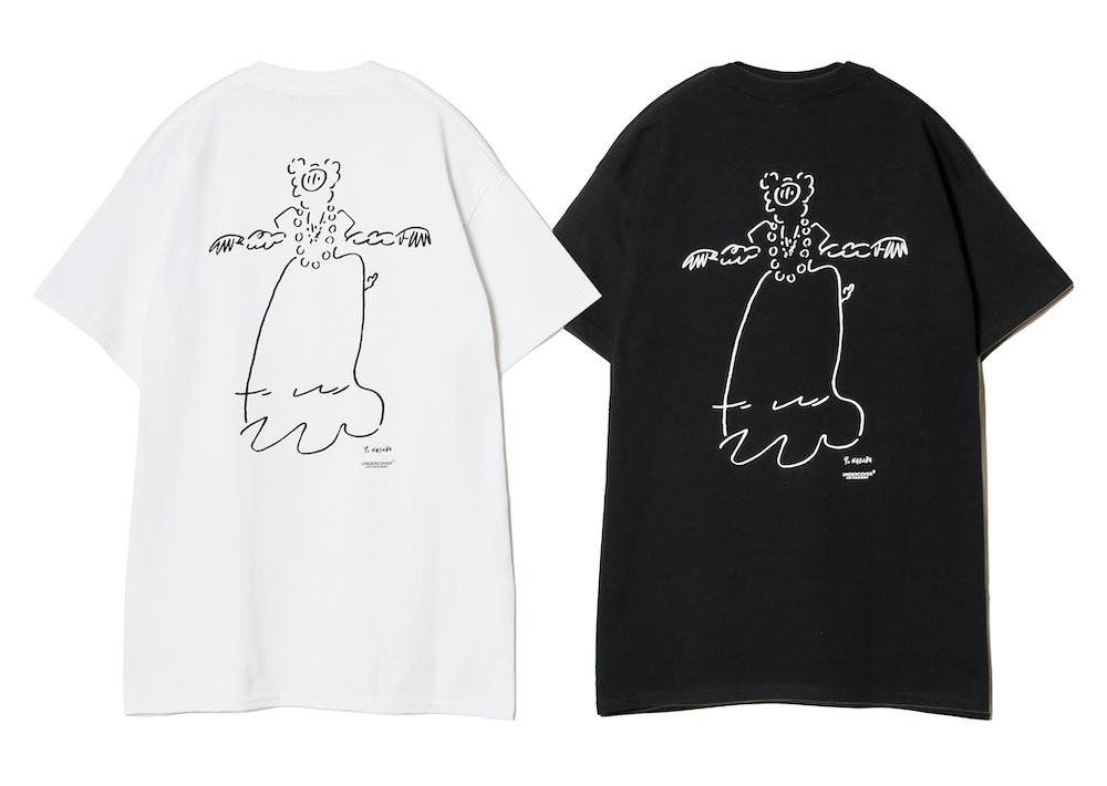 Tシャツ(ホワイト/ブラック)¥6,000