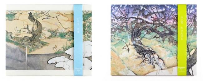 「YAMAGUCHI Akira(山口晃)×銀座 蔦屋書店」懐紙 花園、懐紙 木のもゆる 各¥800