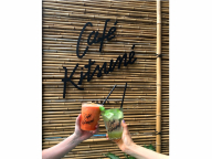 爽やかドリンク2種にレモンのどらやきも。Café Kitsunéに夏限定のメニューが登場