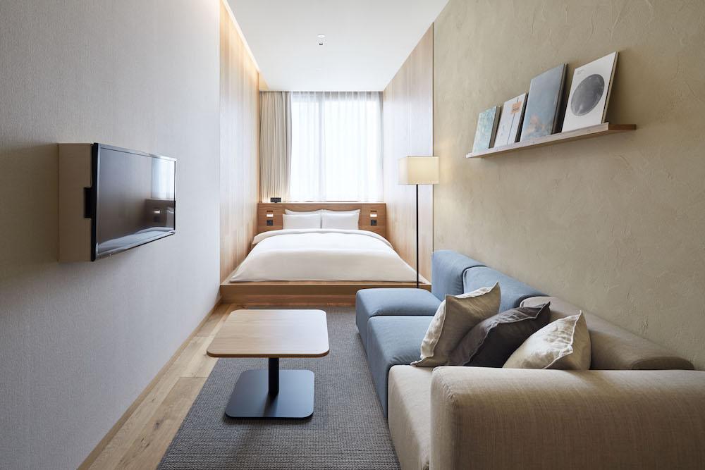 44室あるタイプCの部屋。¥29,900(消費税・サービス料込み)