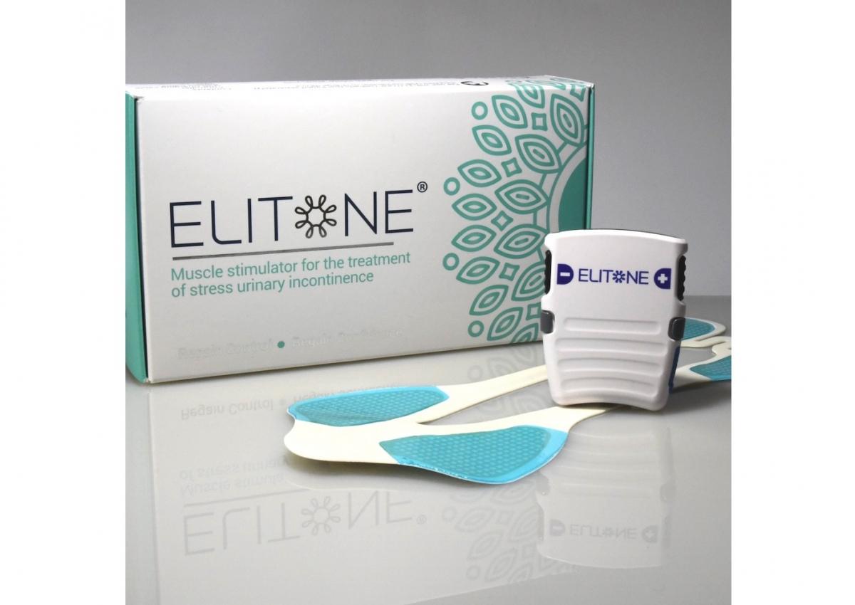 装着するだけで手軽に骨盤底筋がトレーニングできる「elitone」。
