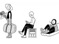 ビームスT 原宿にて小幡彩貴のアートショーを開催! 描き下ろしの新作がTシャツやフーディーにも登場