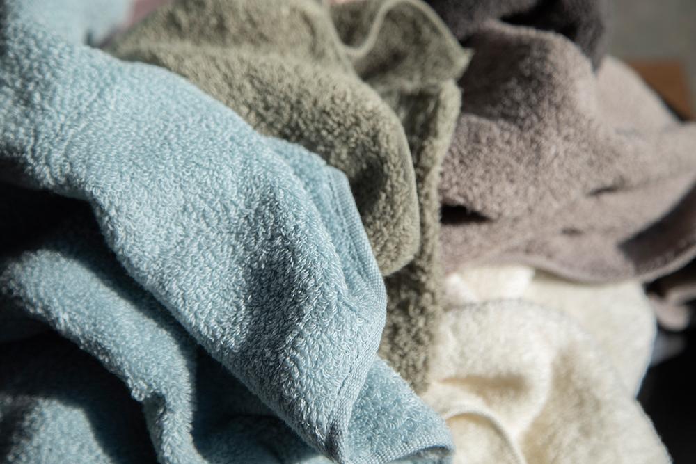 洗うたびにふわふわ度合いが増すのが魅力。使うたびに幸せを感じられそう!