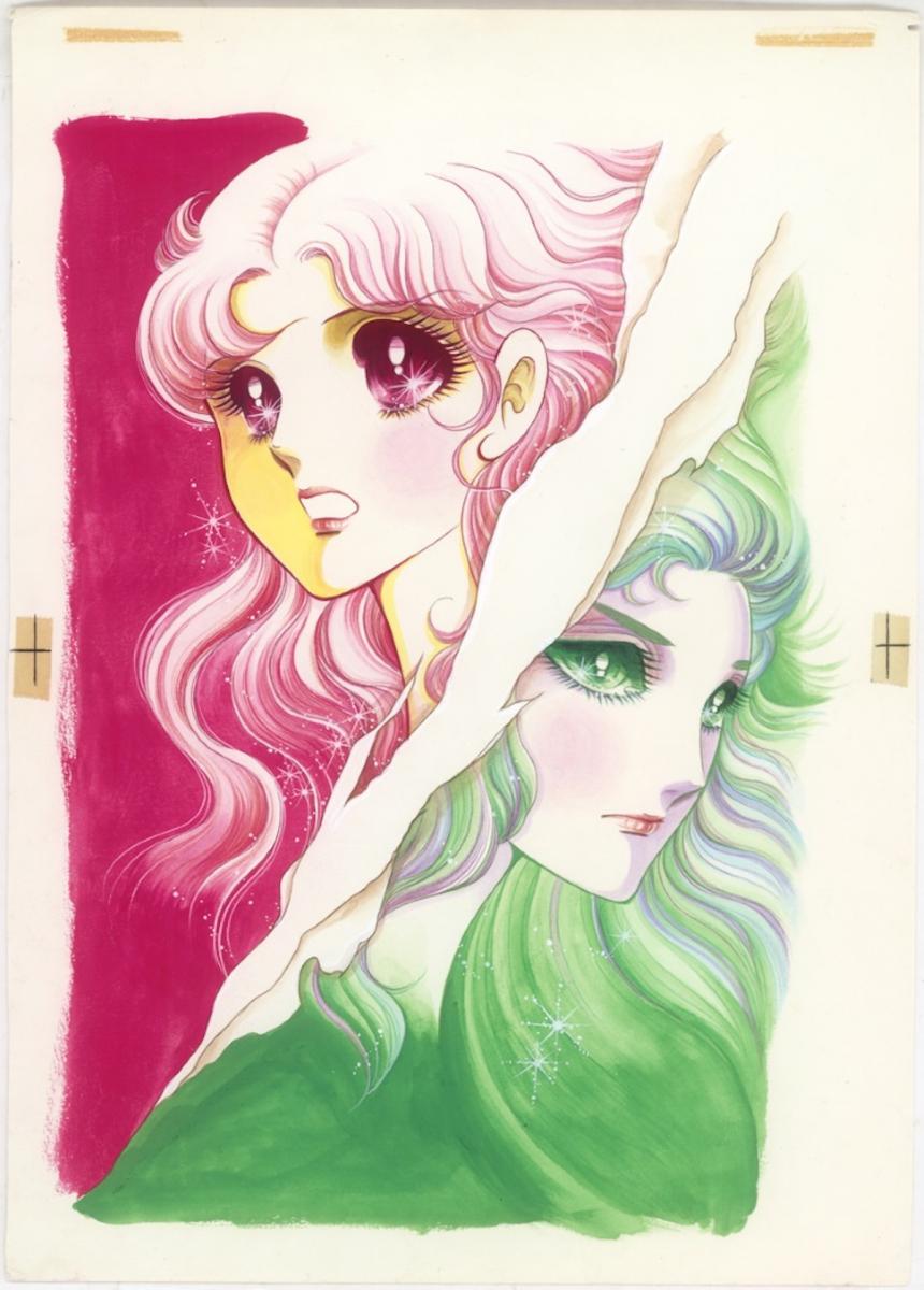 コミックス12巻の表紙原画(展覧会メインビジュアル)©️Miuchi Suzue