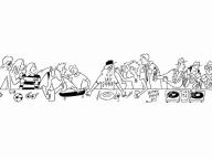 高橋盾とのコラボレーションアパレルも登場! 長場雄が個展「The Last Supper」を渋谷で開催