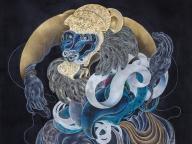 神秘的な生き物が息づく楽園を体験。双子アートユニット、HAMADARAKAの個展がDIESEL ART GALLERYで開催!