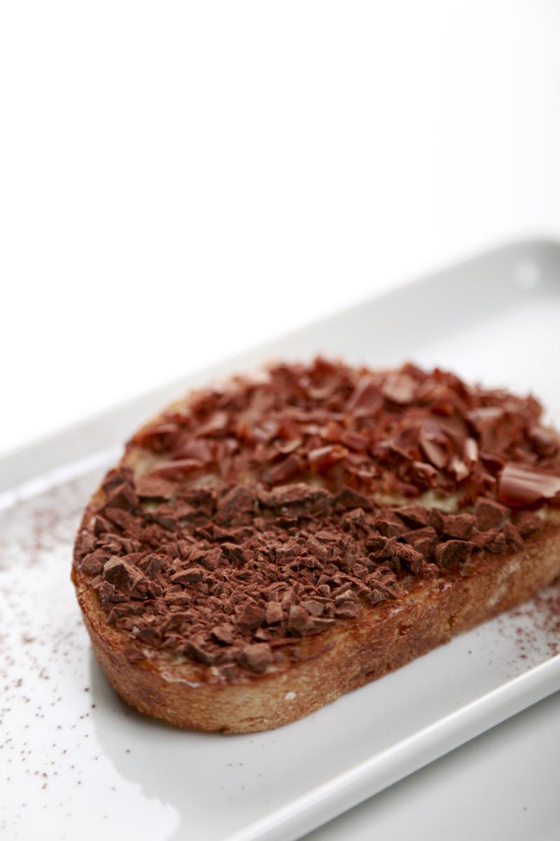 チョコレート バー 丸の内店 限定商品「タルティーヌ コンスタンザ」¥700