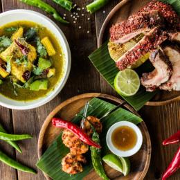 夏の暑さを吹き飛ばす! 「ロングレイン」に夏季限定のスパイシー料理3種が登場