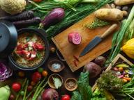 都会の真ん中に野菜畑が登場! 大地の恵みをたっぷり楽しむLDH kitchenの新店舗「野菜畑 土田」オープン