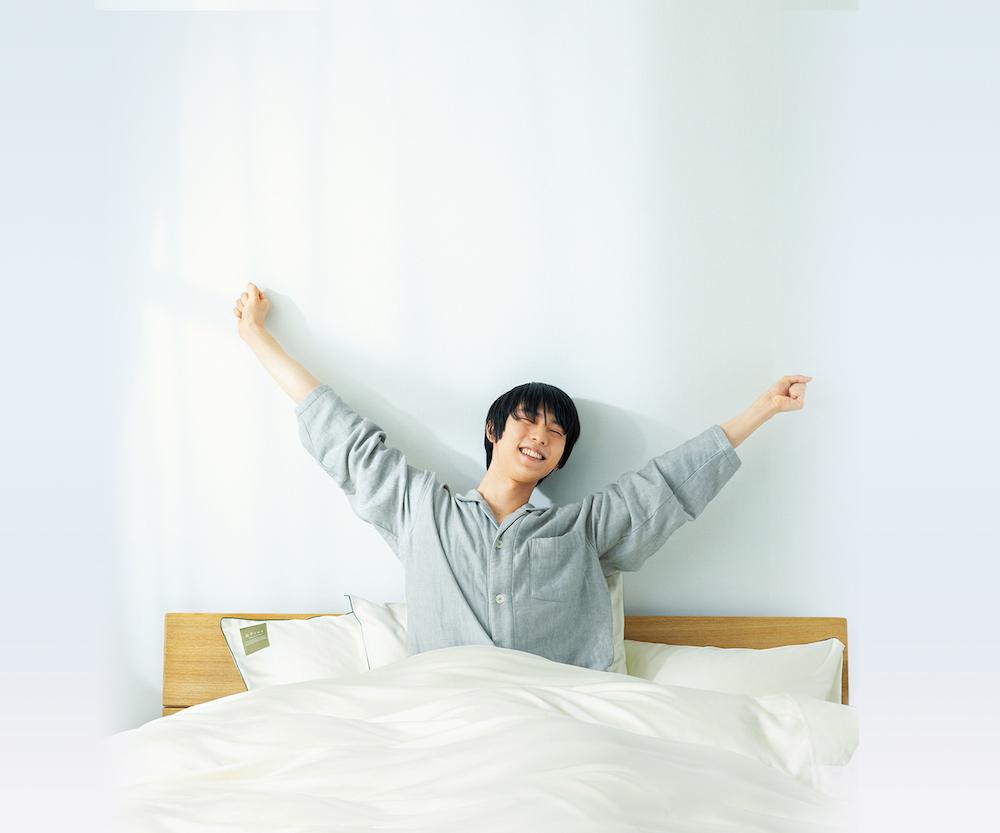 最高のパフォーマンスのためにも睡眠環境にはこだわるという羽生選手。オーダー枕の快眠効果は絶大だとか。