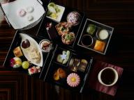 京の秋を東京都心で満喫。パレスホテル東京のアフタヌーンティー「京のおもてなし」