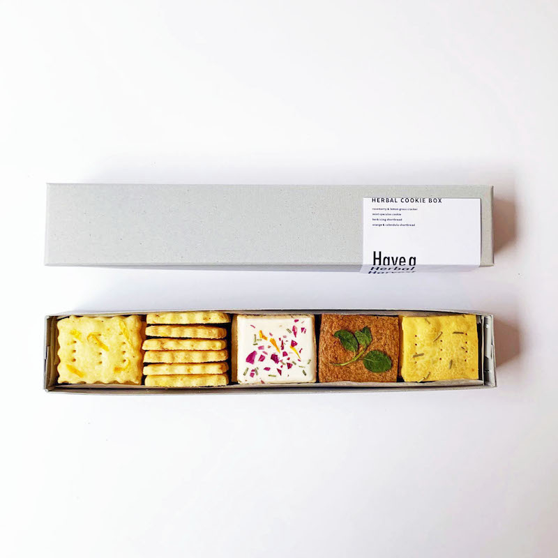 「HERBAL COOKIE BOX」(クッキー4種/計30枚入り)¥1,900