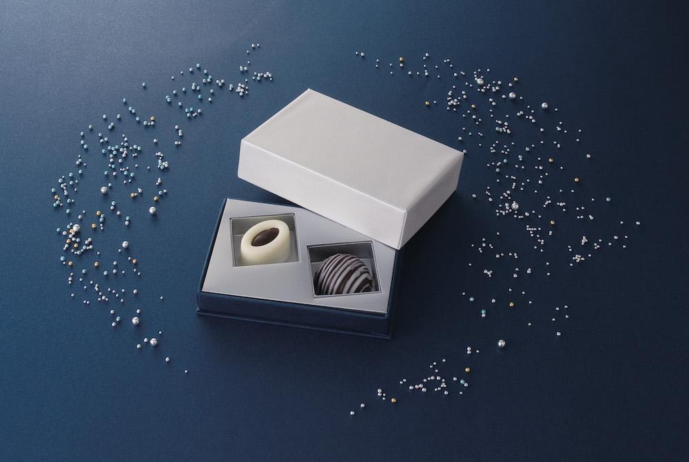 「あんボンショコラ 」(チョコ、ホワイトチョコ)2個入り¥1,200、4個入り¥1,800 ※5月14日より発売開始