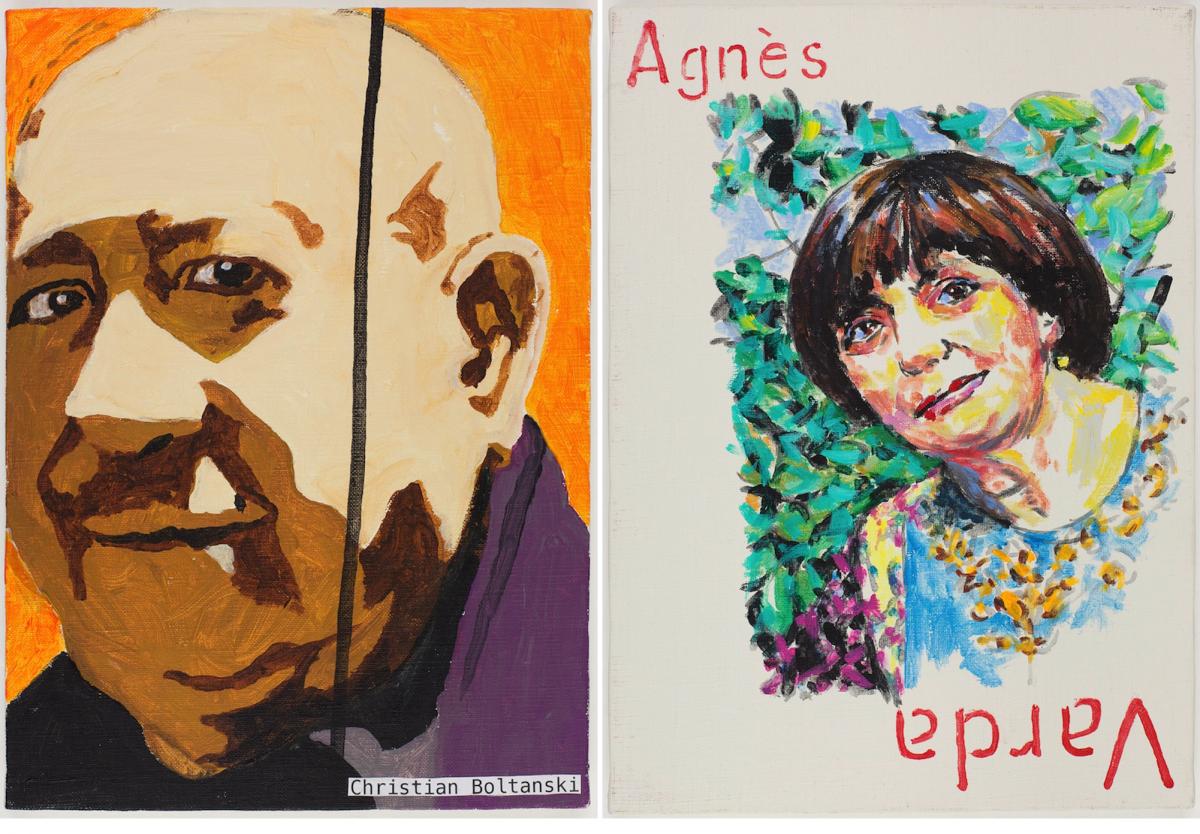 (左)クリスチャン・ボルタンスキー(アーティスト)、2018年 (右)Collection of the Fondation Cartier pour l'art contemporain, Paris © Tadanori Yokoo © André Morin
