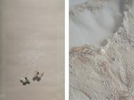 ミヤケマイとオロール・ティブー、2人の美術家がコラボレーション展「箱入り娘_Les Modesties」を京都で開催